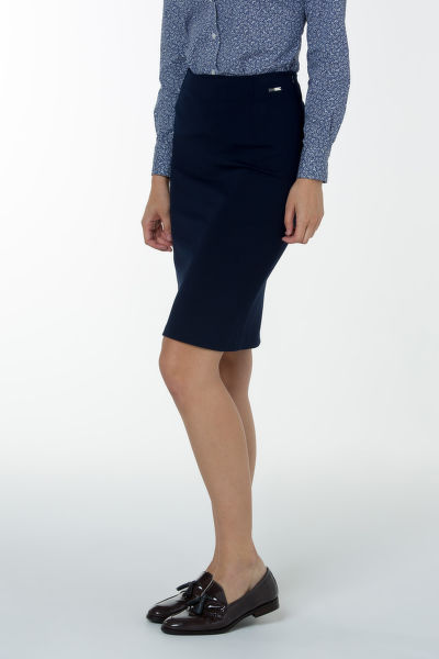 Sukňa GANT O1. JERSEY STRETCH PENCIL SKIRT