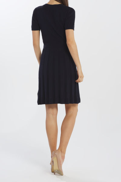 ?ATY GANT D2. POINTELLE KNITTED DRESS