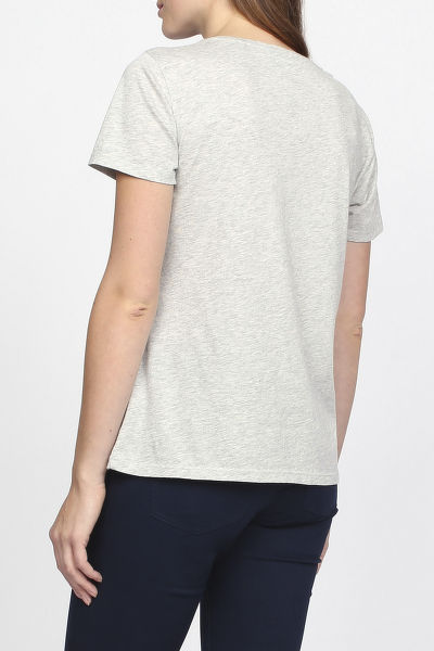 Tri?ko GANT O1. PIMA COTTON SCOOPNECK T-SHIRT