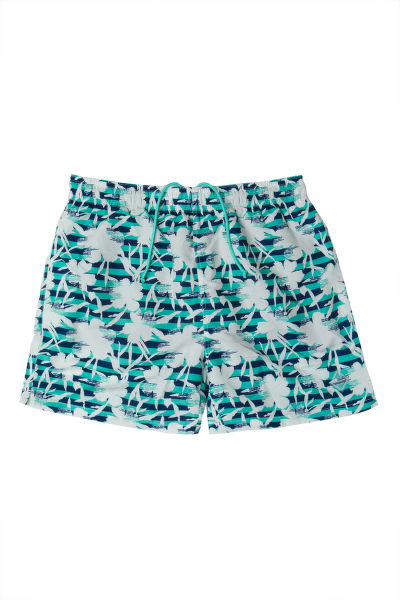 PLAVKY GANT FLOWER STRIPE SWIM SHORTS C.F