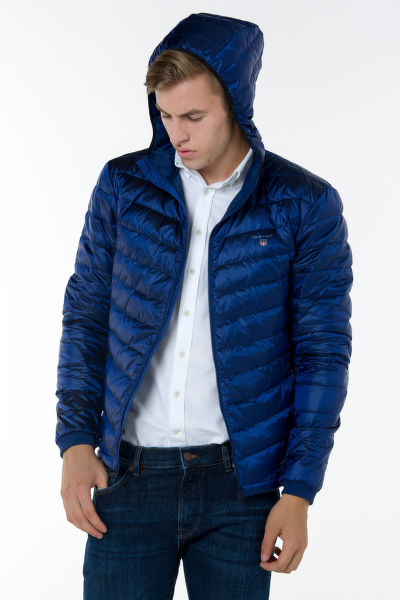 Bunda GANT O1. THE AIRLIGHT HOOD DOWN JACKET