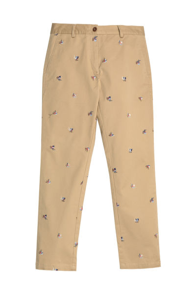KALHOTY GANT D1. EMBROIDERED CLASSIC CHINO