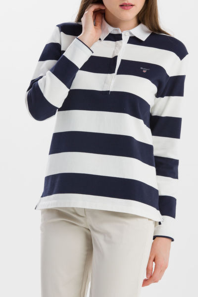 POLOKOŠEĽA GANT O1. HEAVY RUGGER LS STRIPED