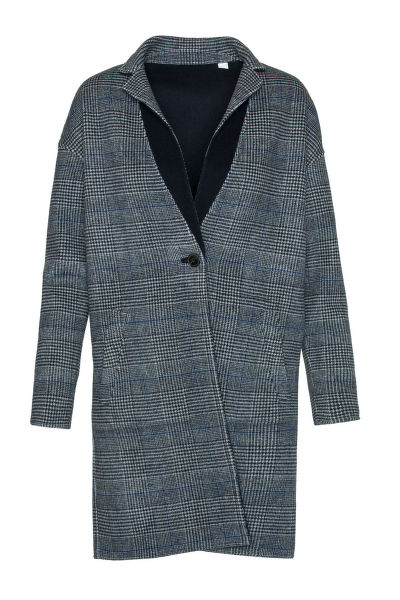 KABÁT GANT G1. REVERSIBLE HANDSTITCHED COAT