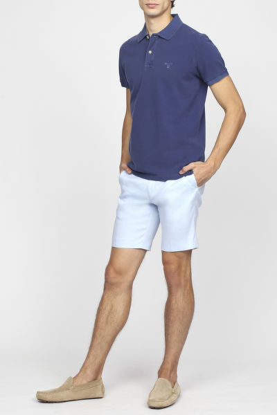 Šortky GANT G2. STRETCH LINEN SHORTS