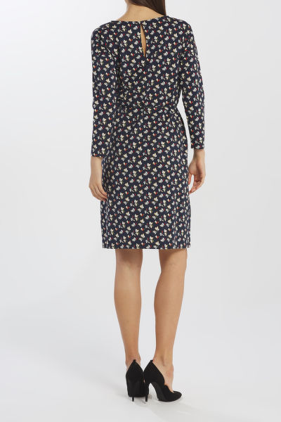 ?ATY GANT D1. AOP JERSEY DRESS