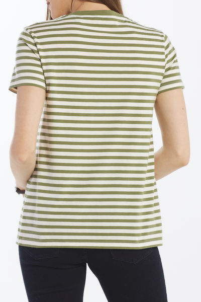 TRI?KO GANT D1. STRIPE GRAPHIC SS T-SHIRT