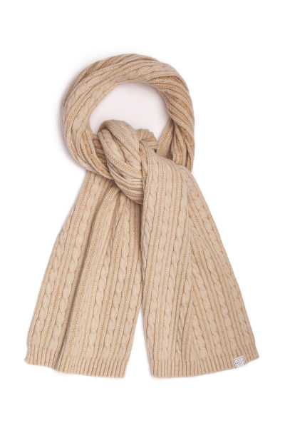 ŠÁL GANT D2. WINTER FADED KNIT SCARF