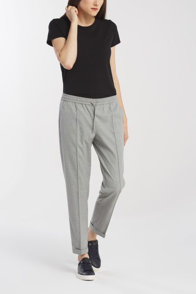 NOHAVICE GANT D1. WOOL LOOK PULL ON PANT