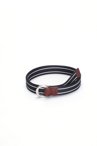 Opasok GANT O2. STRIPED WEBBING BELT