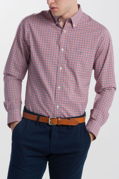 KOŠEĽA GANT THE BROADCLOTH 3 COL GINGHAM REG BD