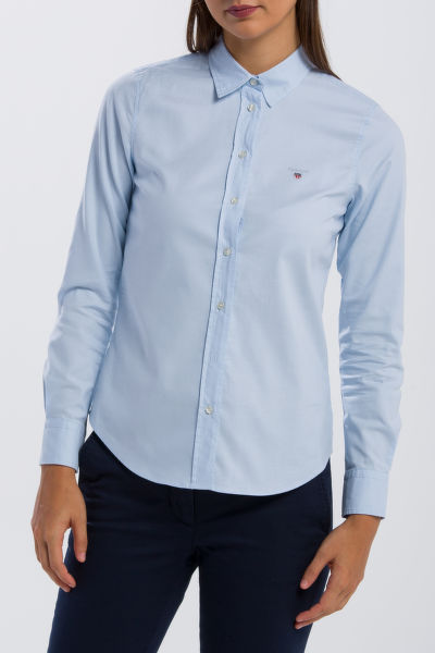 KOŠEĽA GANT STRETCH OXFORD SOLID SLIM SHIRT