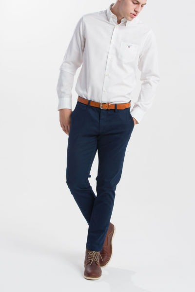 KOŠILE GANT TP OXFORD PLAIN SLIM HBD