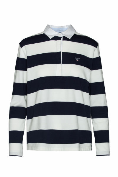 POLOKOŠILE GANT O1. HEAVY RUGGER LS STRIPED