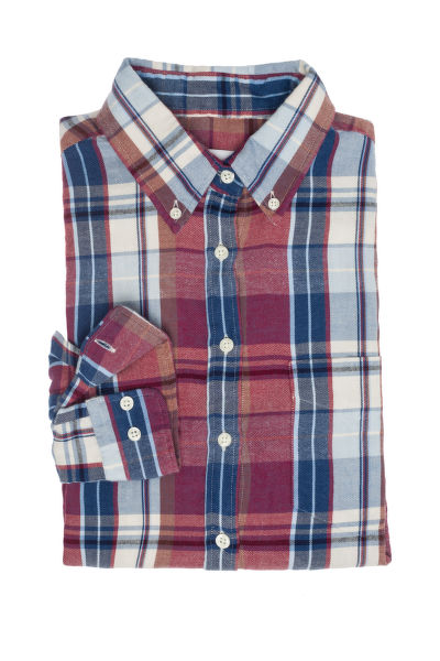 KOŠILE GANT R2. WINTER FLANNEL MADRAS SHIRT