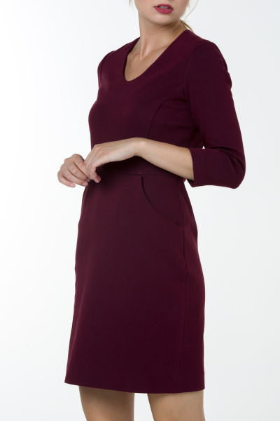 Šaty GANT O1. PIQUE STRETCH DRESS