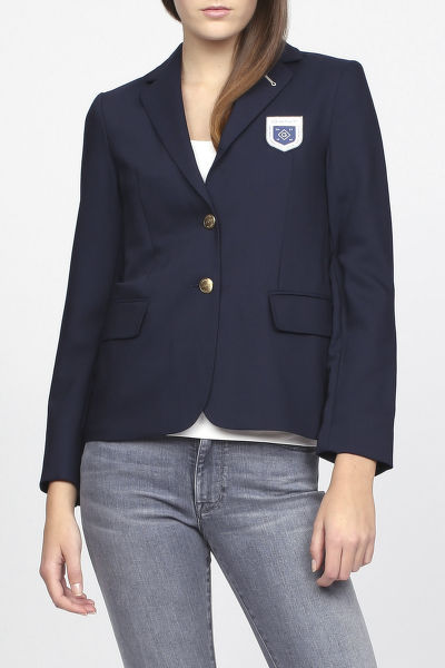 SAKO GANT O1. CLUB BLAZER W BADGE