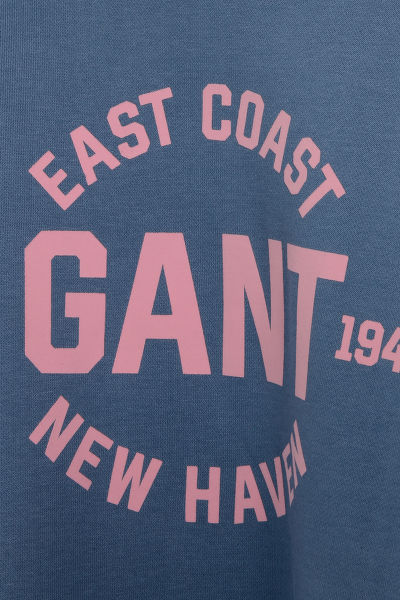 MIKINA GANT D1. GANT LOGO C-NECK SWEAT