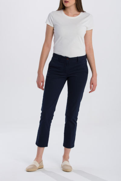 NOHAVICE GANT O1. CLASSIC CROPPED CHINO