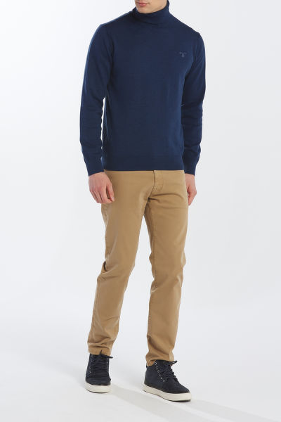 SVETR GANT LIGHT WEIGHT COTTON TURTLE NECK
