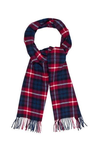 ŠÁL GANT O1. CHECKED LAMBSWOOL SCARF