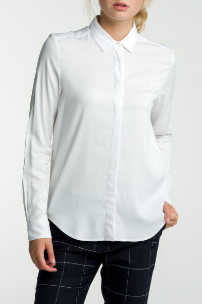 Košeľa GANT FEATHER WEIGHT TWILL BLOUSE