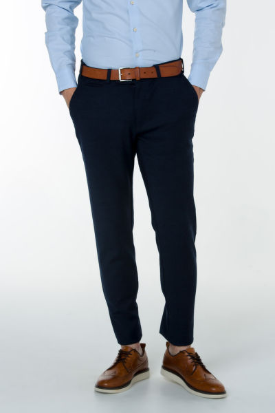 Nohavice GANT O1. WOOL FLANNEL CHINO