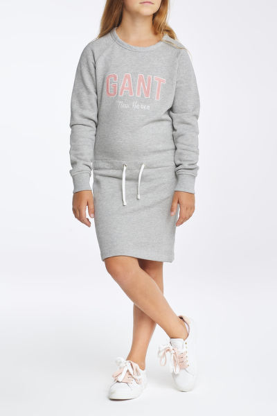 ?ATY GANT D1. NEW HAVEN SWEAT DRESS