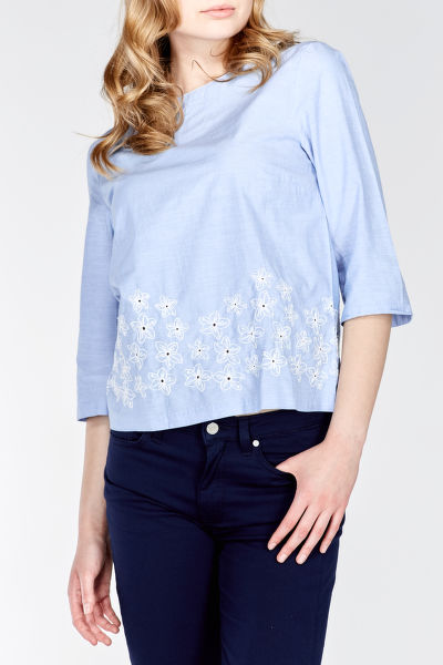 Košeľa CHAMBRAY TOP