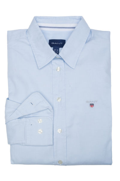 KOŠILE GANT STRETCH OXFORD SOLID SLIM SHIRT