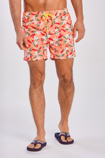 PLAVKY GANT LEMON FLOWERS SWIM SHORTS CF