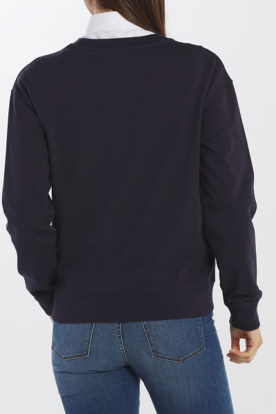 MIKINA GANT D1. EMBROIDERY SWEAT