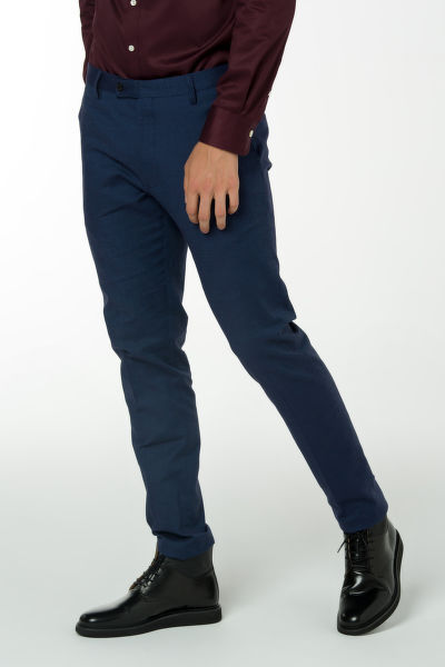 Nohavice GANT O1. TAILORED PINHEAD SLACKS