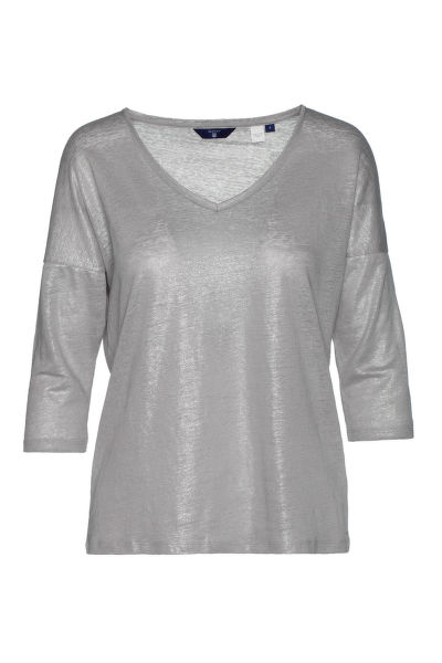 Tri?ko GANT O2. LUREX 42828 SLEEVE TOP