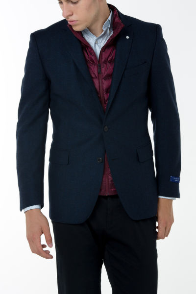 SAKO GANT O1. THE HERRINGBONE BLAZER C