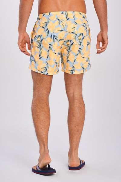 PLAVKY GANT LEMON PRINT SWIM SHORTS CF