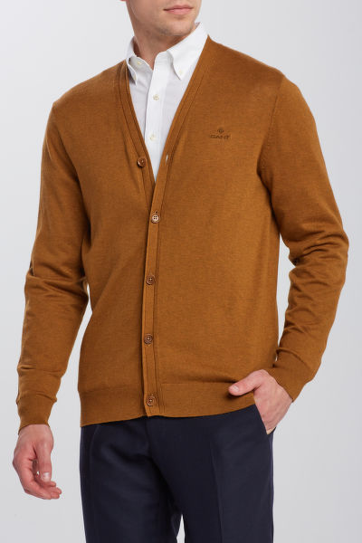 SVETER GANT D1. ELBOW PATCH CARDIGAN