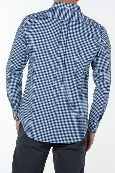 Košile GANT THE BROADCLOTH GINGHAM REG BD