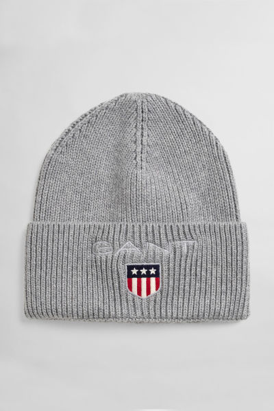 ČAPICA GANT D1. MEDIUM SHIELD RIB BEANIE