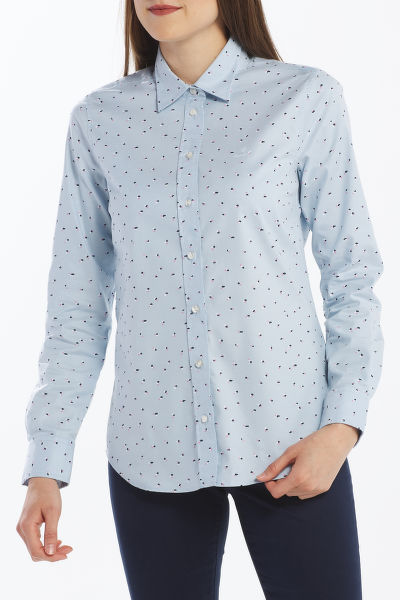 KOŠEĽA GANT D2. LURE PRINTED STRETCH OXF SHIRT
