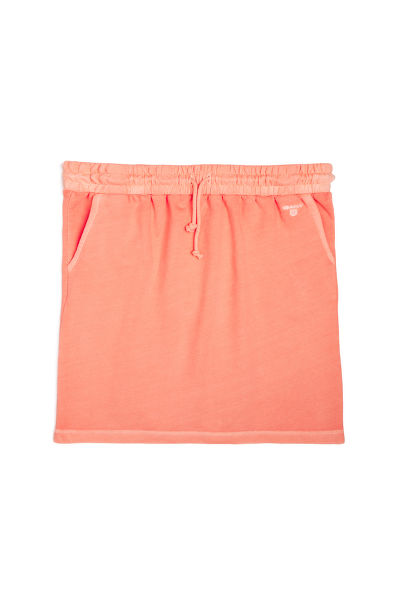 SUKNĚ GANT O2. SUNBLEACHED SWEAT SKIRT