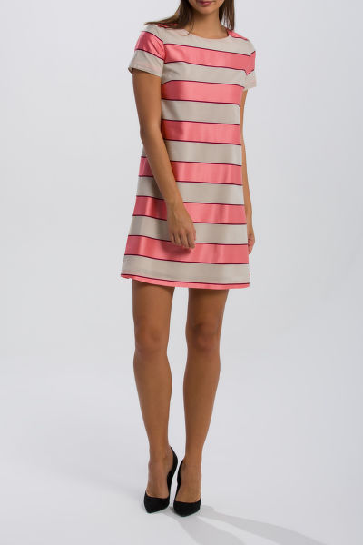 ŠATY GANT O2. SATIN STRIPE DRESS