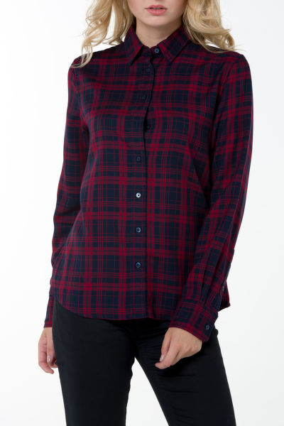 Košeľa GANT O2. CHECKED TWILL SHIRT