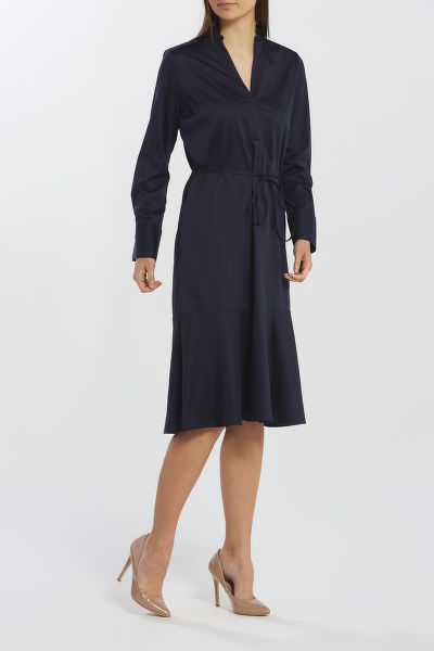 ?ATY GANT D1. TP FRILL SHIRT DRESS
