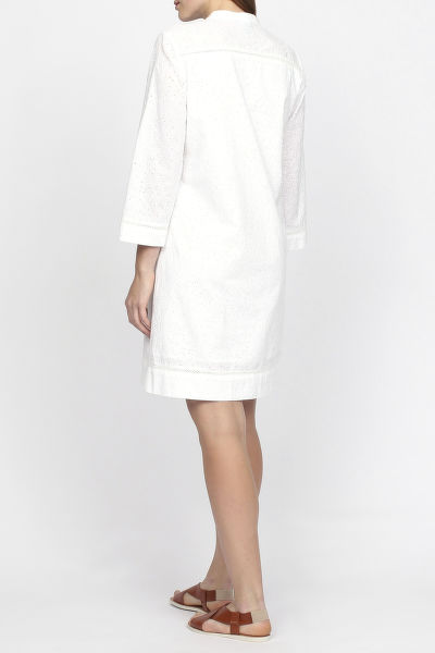 Šaty GANT O2. BRODERIE ANGLAIS SHIRT DRESS