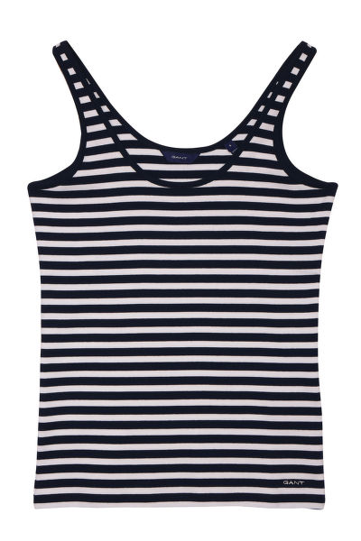 TRIČKO GANT O1. STRIPED 1X1 RIB TANK TOP