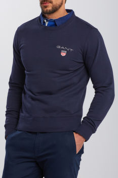 MIKINA GANT D1. MEDIUM SHIELD C-NECK SWEAT
