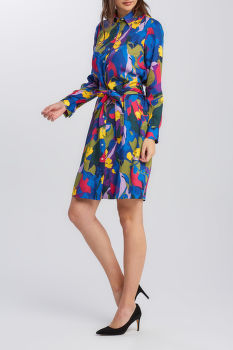 ŠATY GANT D1. SPLENDID FLORAL SHIRT DRESS