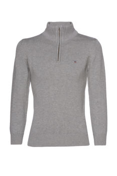 SVETER GANT CASUAL COTTON HALF ZIP