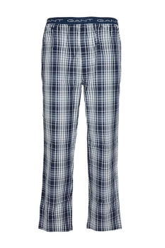 PAJAMA PANTS BLUE CHECK WOVEN